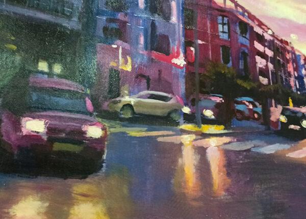 oleo urbano coches