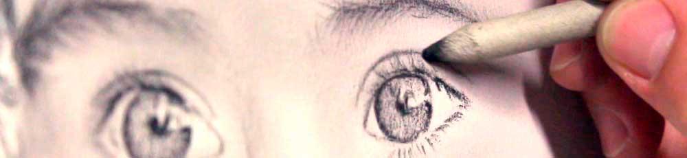 dibujando un ojo